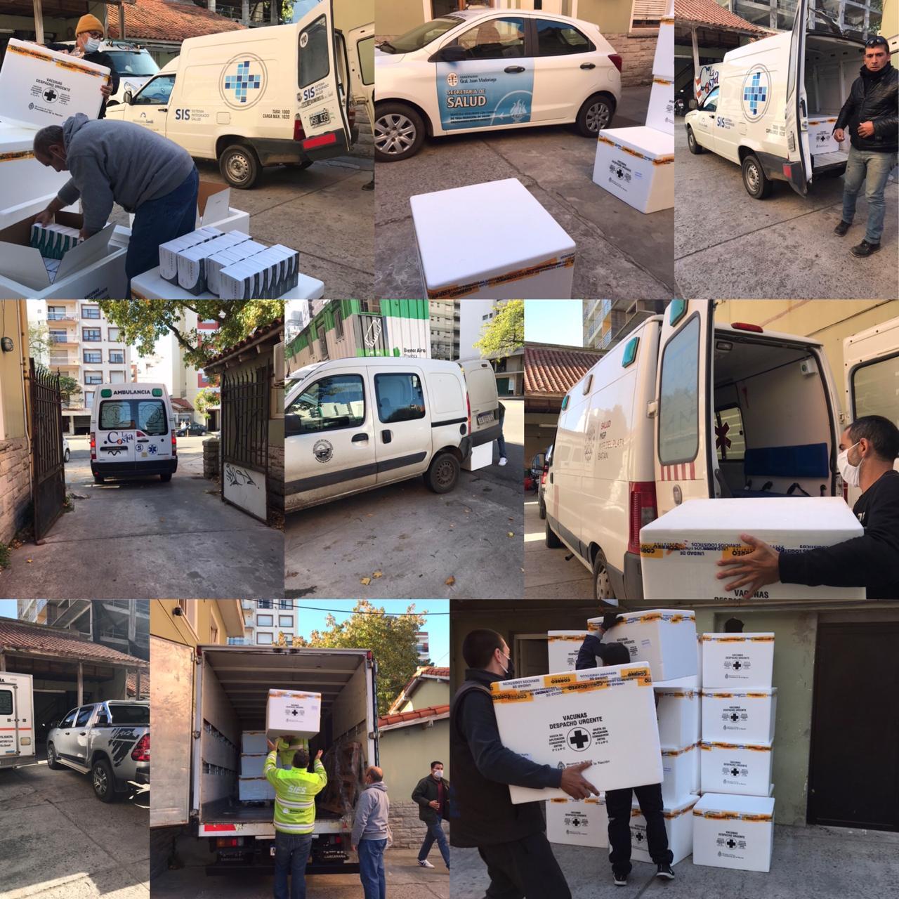Se reanuda la campaña de vacunación antigripal en Región Sanitaria VIII