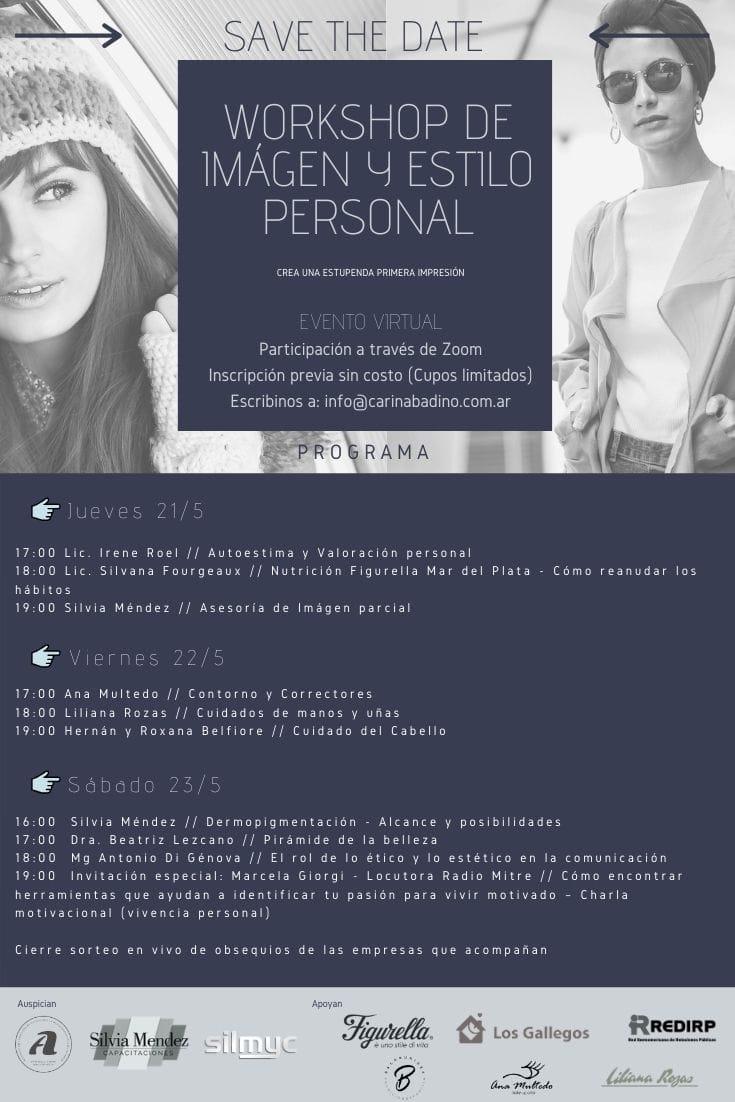 Workshop virtual sobre imagen y estilo personal