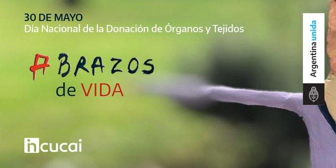 #AbrazosDeVida: campaña del Incucai para promover la donación de órganos