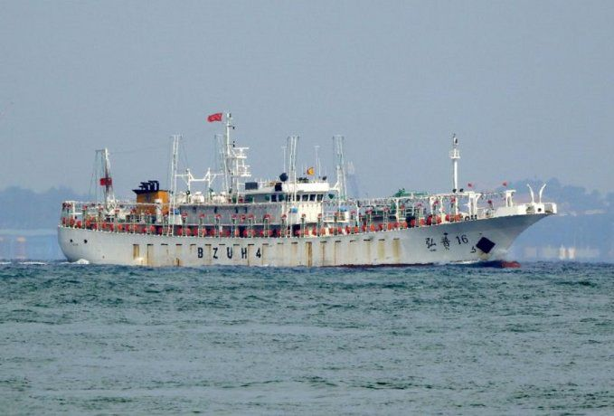 Capturan un buque chino que pescaba de forma ilegal en el mar argentino