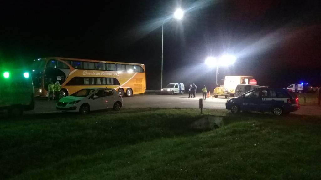 Interceptan un micro con 41 pasajeros provenientes de Corrientes