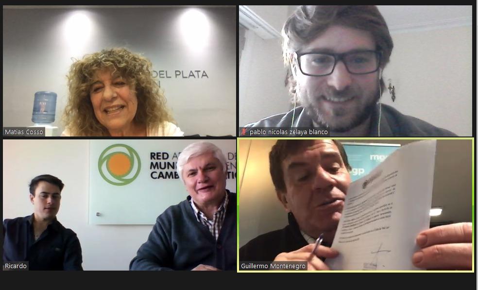 Celebran adhesión a la Red Argentina de Municipios contra el Cambio Climático