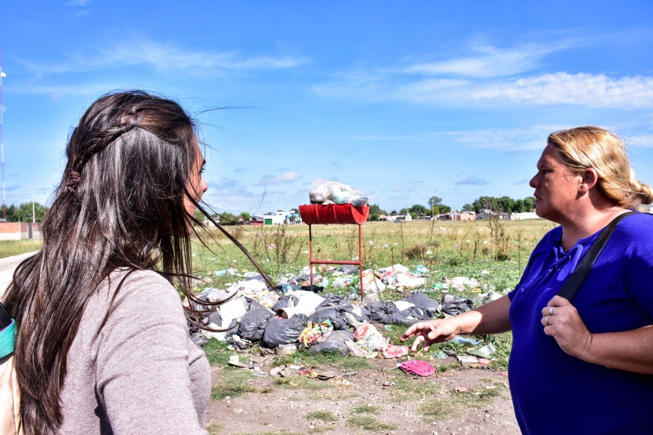 Piden al Municipio la limpieza de microbasurales en más de diez barrios marplatenses