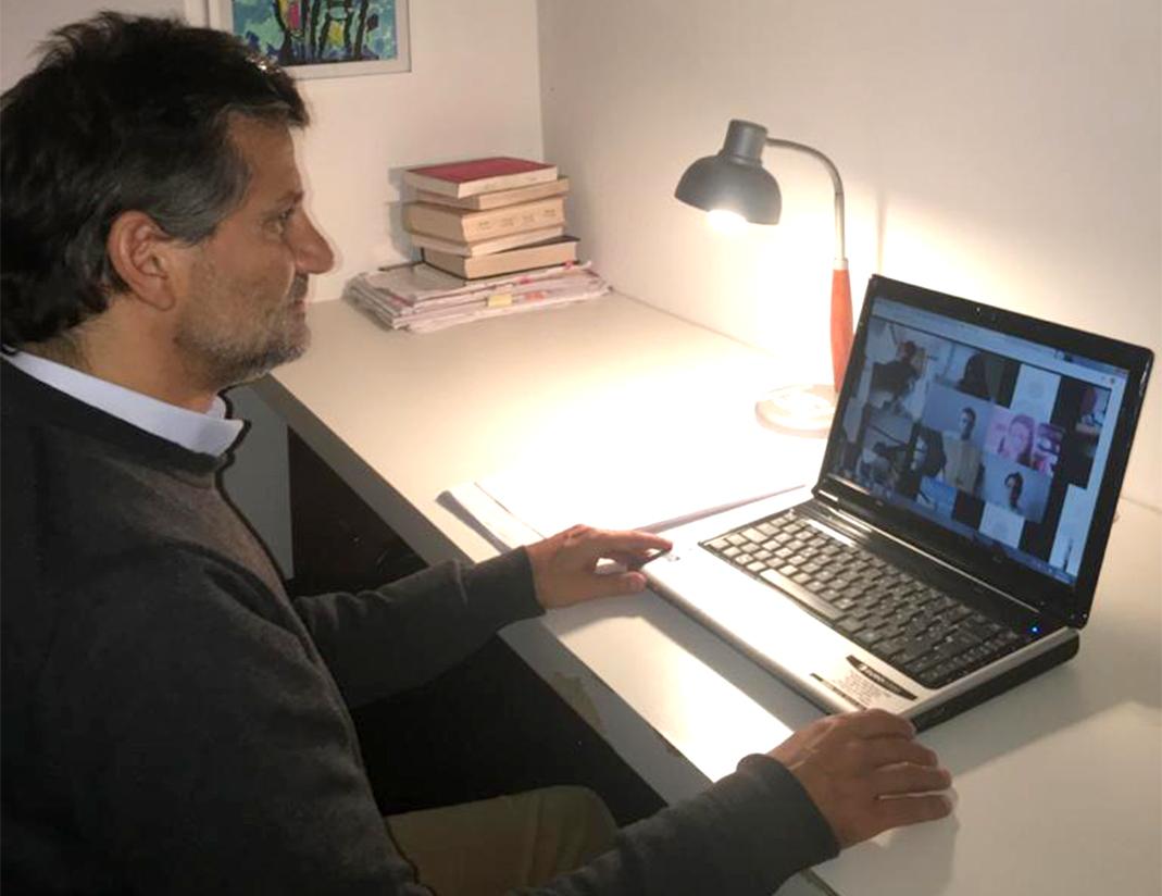 """Ciano: """"Las sesiones virtuales  permitirán la participación de todos"""""""