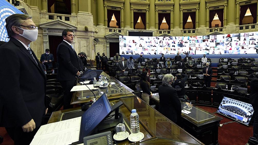 Con amplia mayoría Diputados aprobó el proyecto para regular el teletrabajo