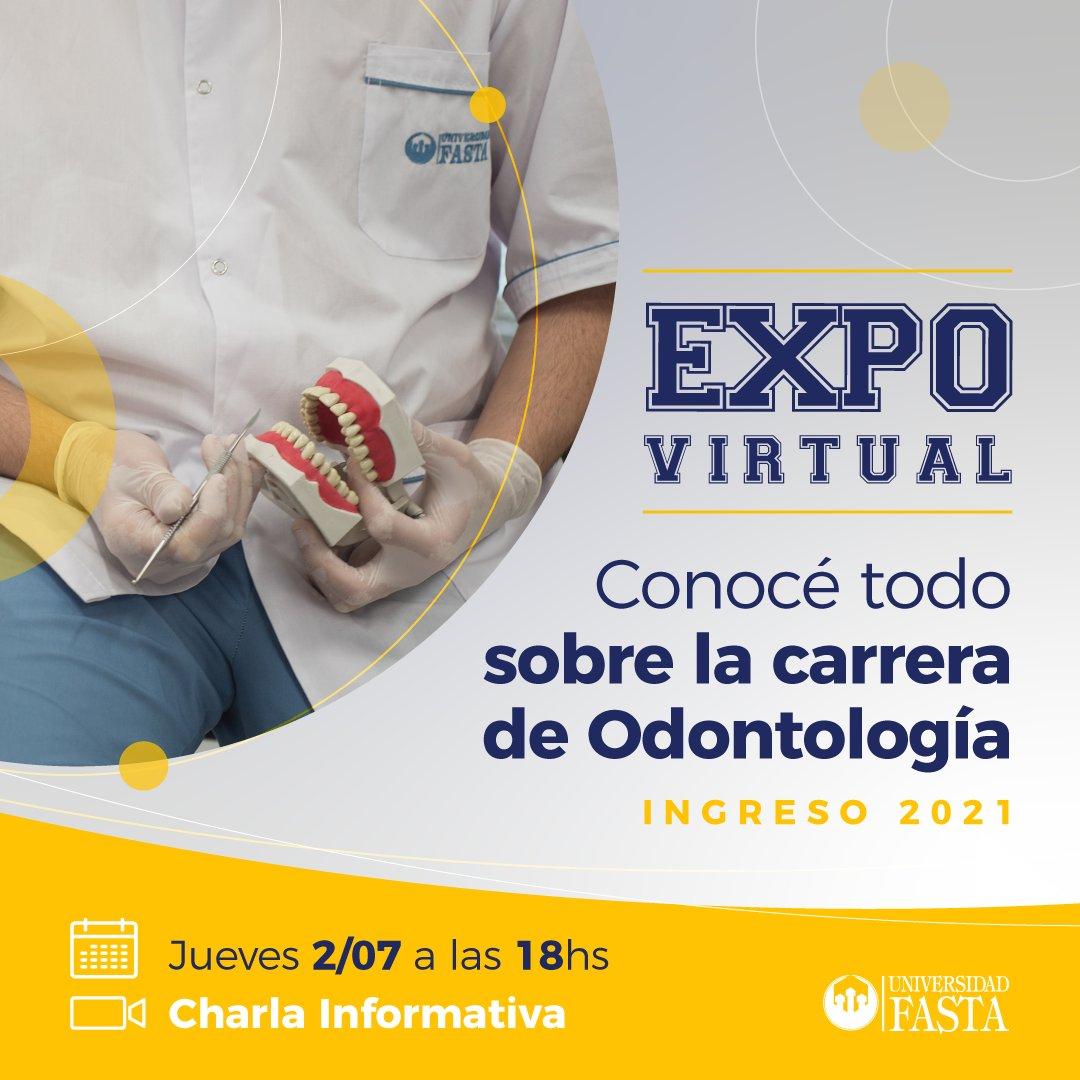 La Universidad Fasta realizará la primera Expo virtual de Medicina y Odontología