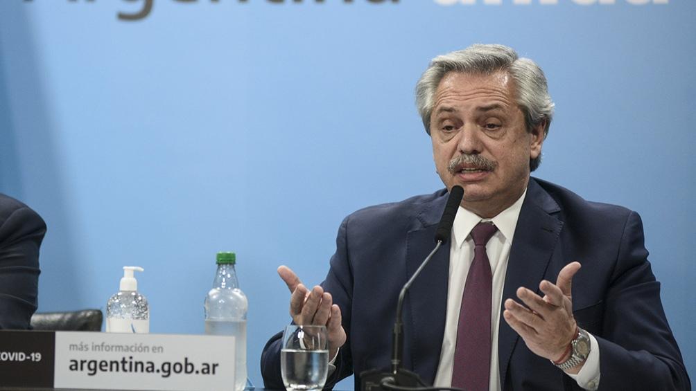 Fernández anunció la intervención de Vicentín y el envío de un proyecto de expropiación al Congreso