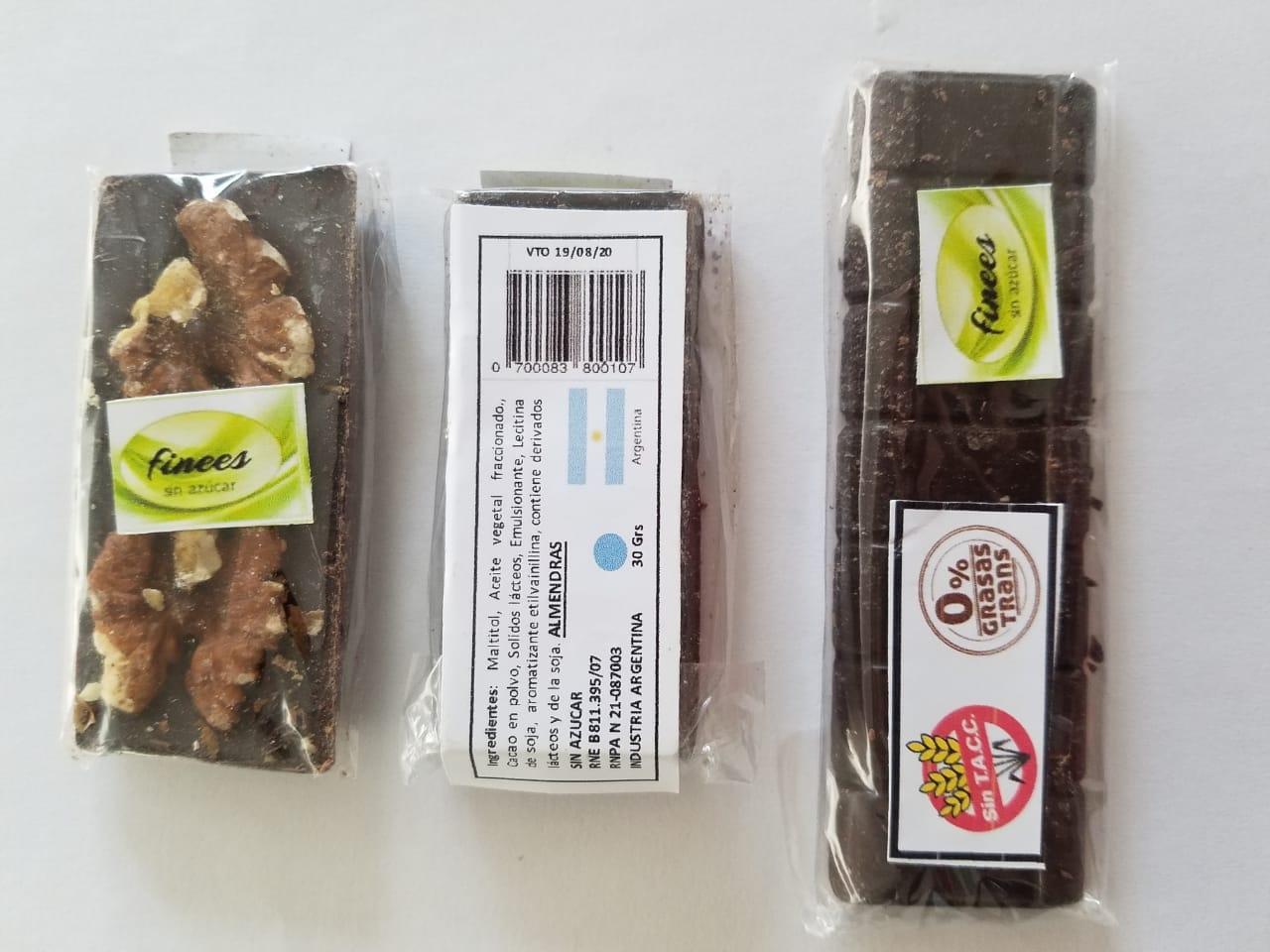El Municipio prohíbe la venta de las barras de chocolate Finees
