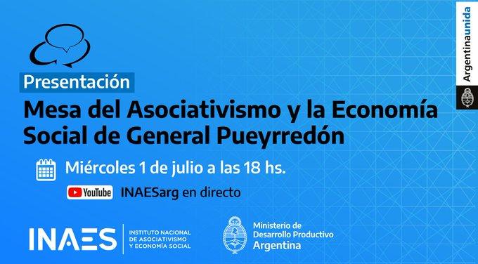 """Presentan la """"Mesa del Asociativismo y la  Economía Sociales de General Pueyrredon"""""""