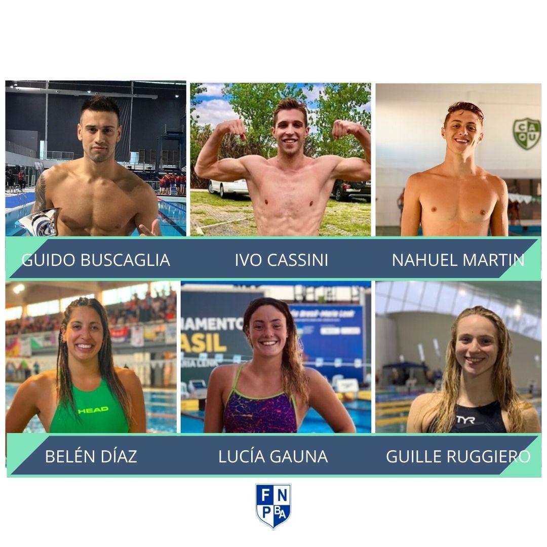 Vuelven a entrenar los nadadores de FENBAS de Selección Nacional
