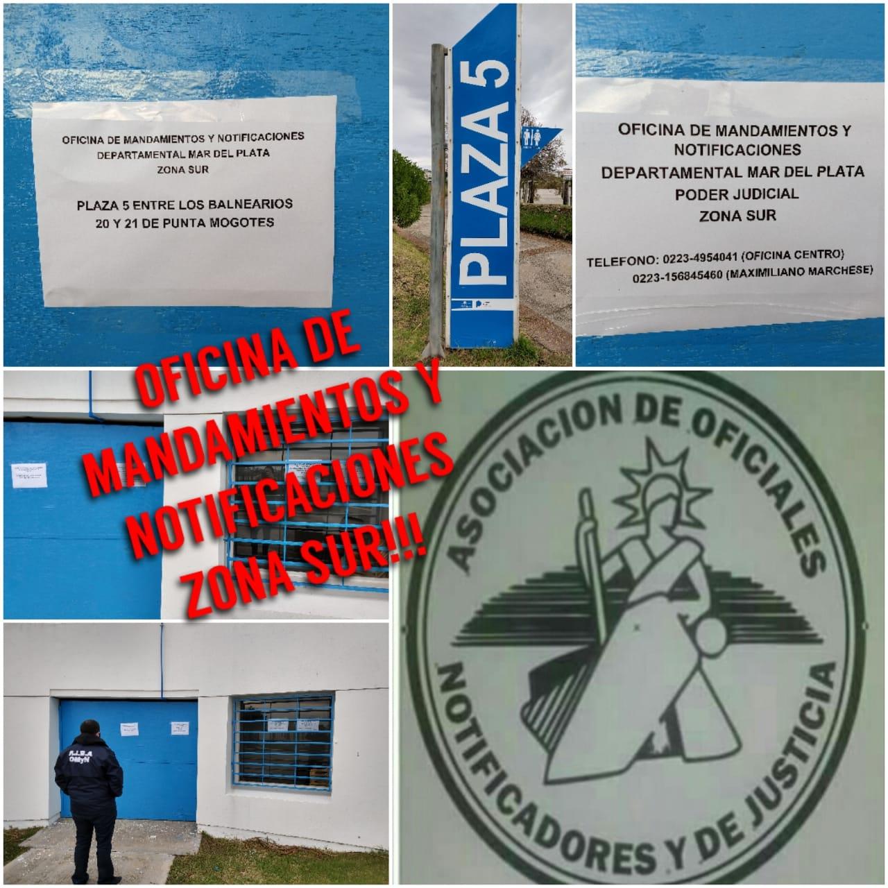 Habilitan un espacio para agentes notificadores en complejo de Punta Mogotes