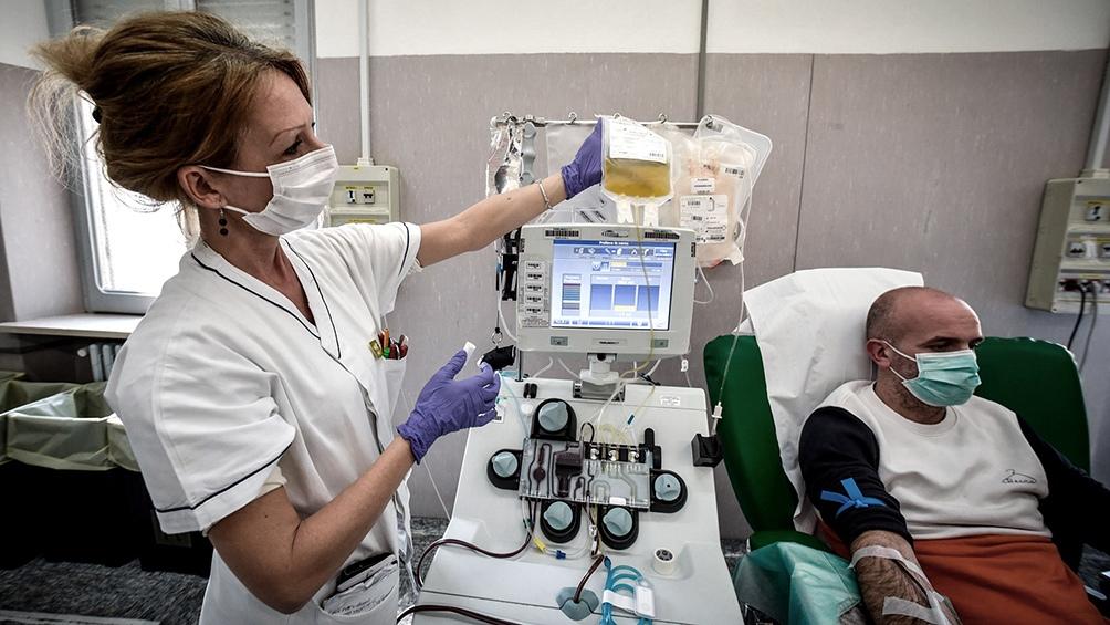 COVID-19: Destacan la importancia de la donación de plasma