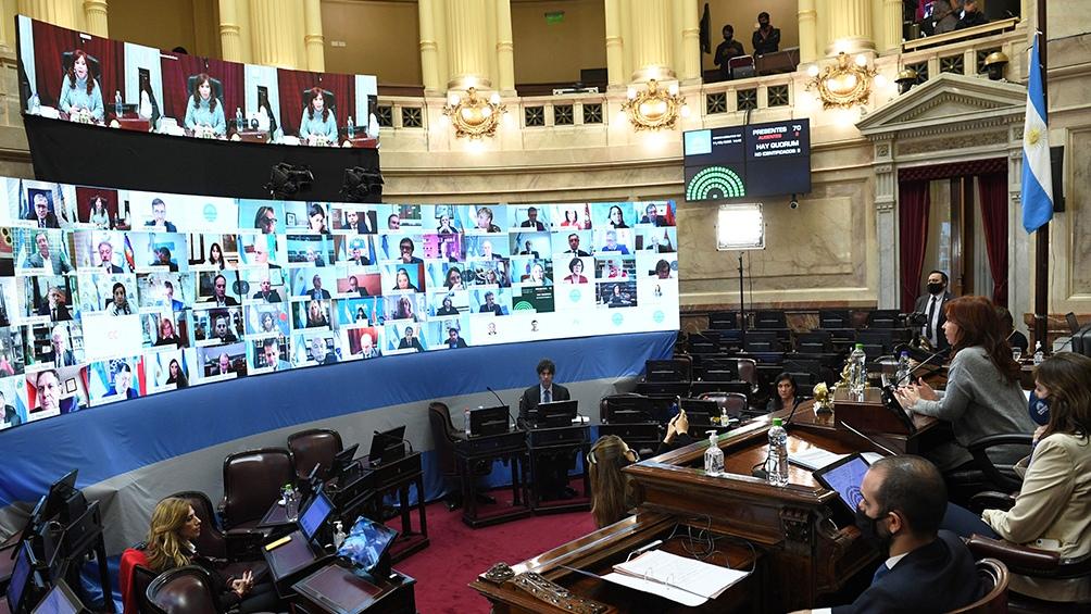 El Senado aprobó el proyecto de reforma judicial