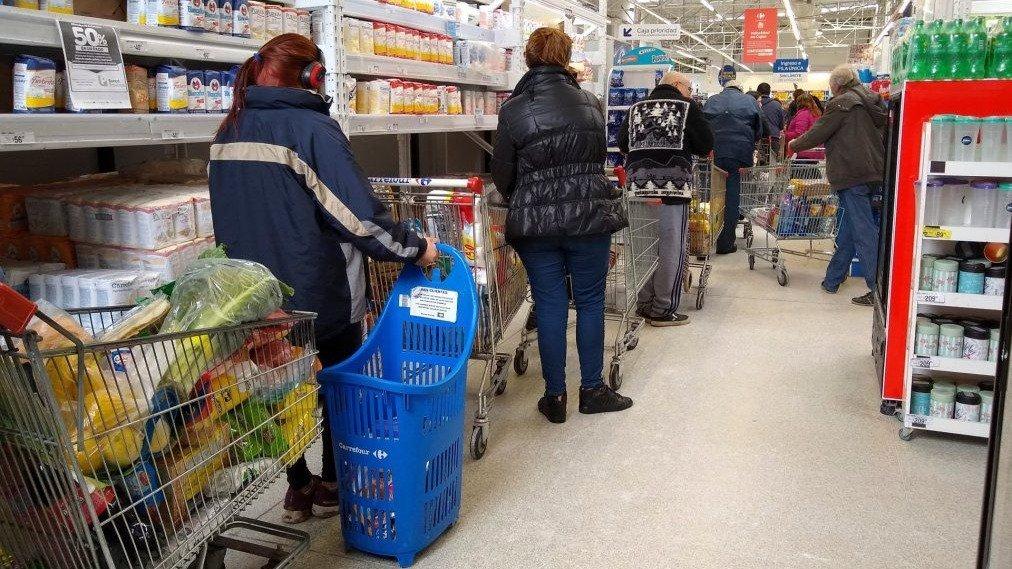 El costo de la canasta básica alimentaria subió 2,1% en julio