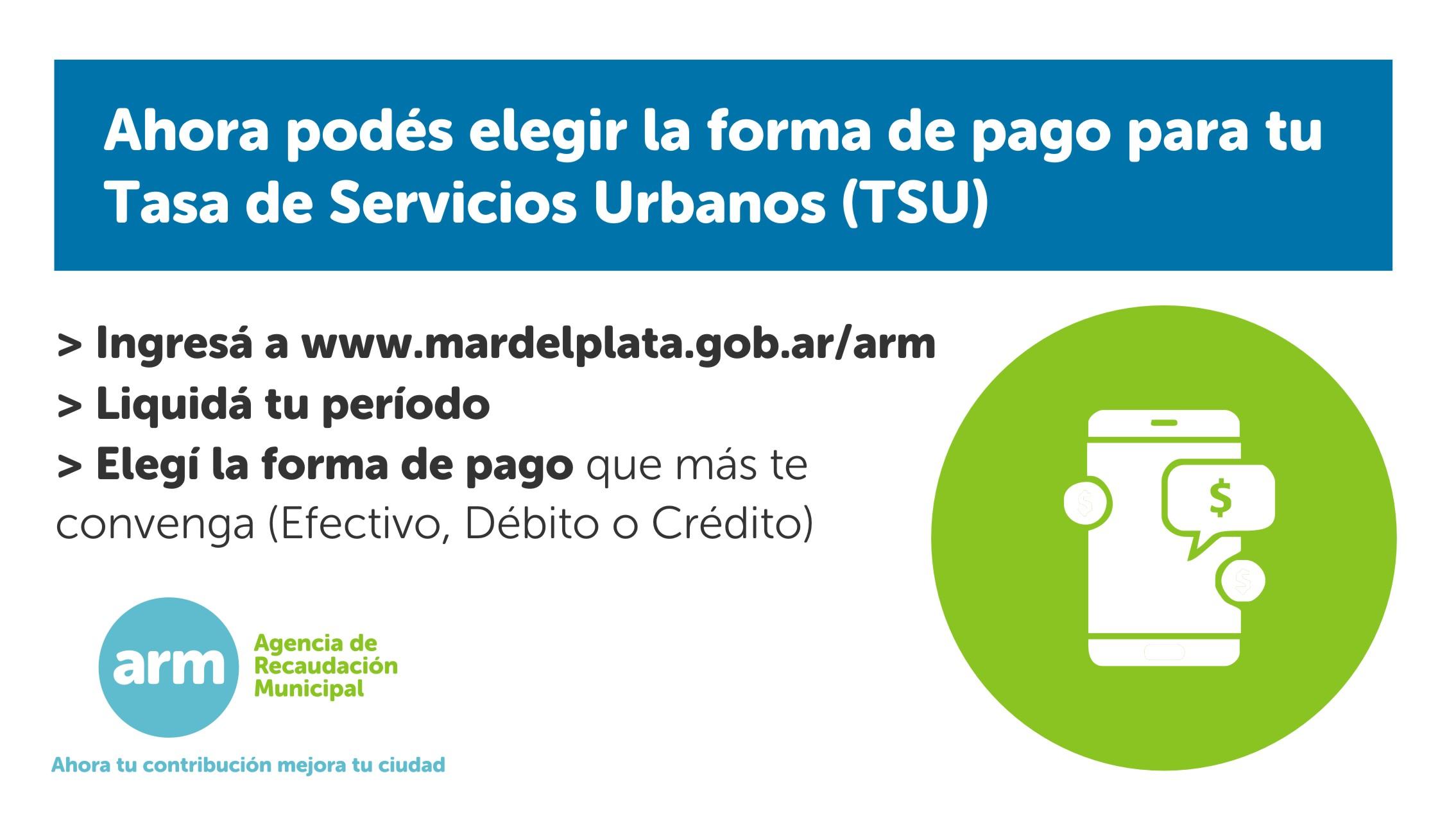 Nuevos medios de pago electrónico para abonar las tasas municipales