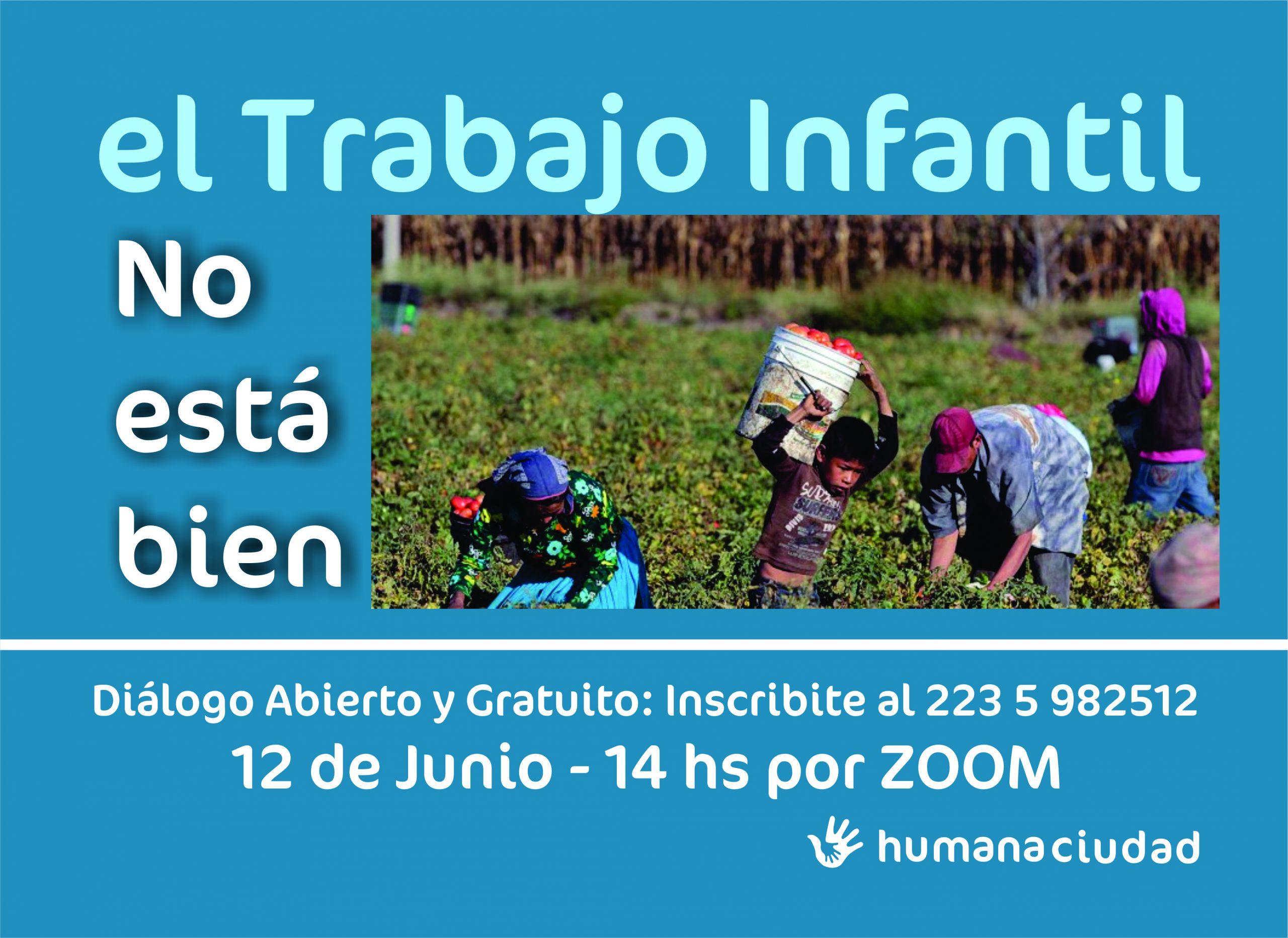 """Realizan conversatorio: """"El Trabajo Infantil no está en cuarentena"""""""