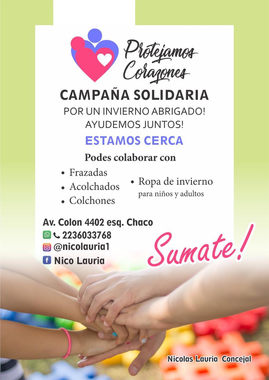 """Lanzaron la campaña solidaria """"Protejamos Corazones"""""""