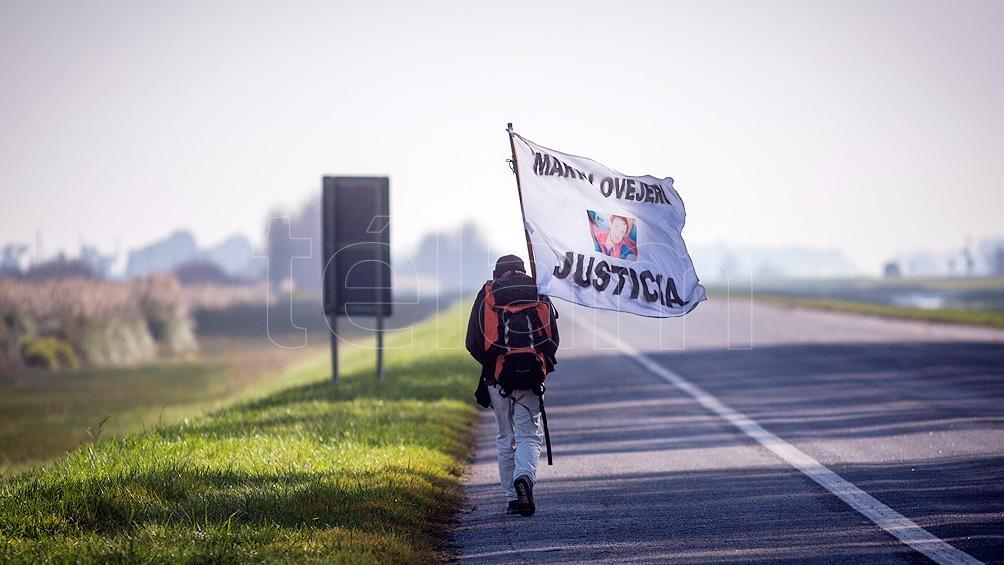 Un camino de 400 kilómetros para buscar justicia