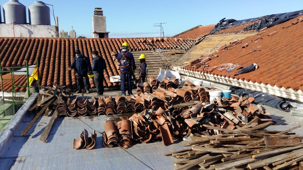 La Secretaría de Obras avanza con la reparación de la Escuela Provincial 19