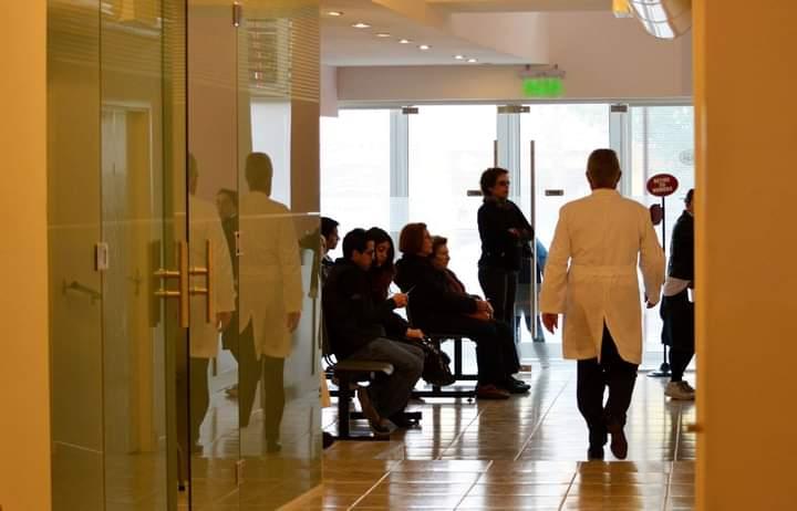 Centro Oftalmológico suspende atención al público