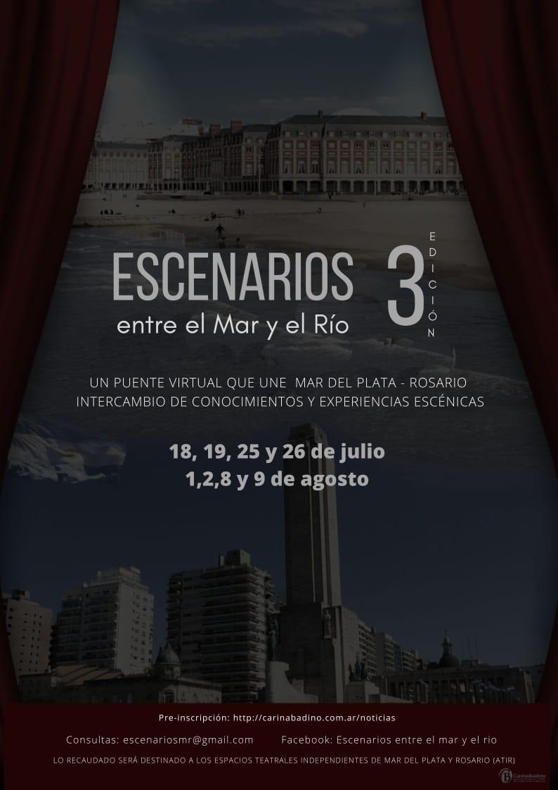 """Comienza la 3ra edición de """"Escenarios entre el mar y el río"""""""