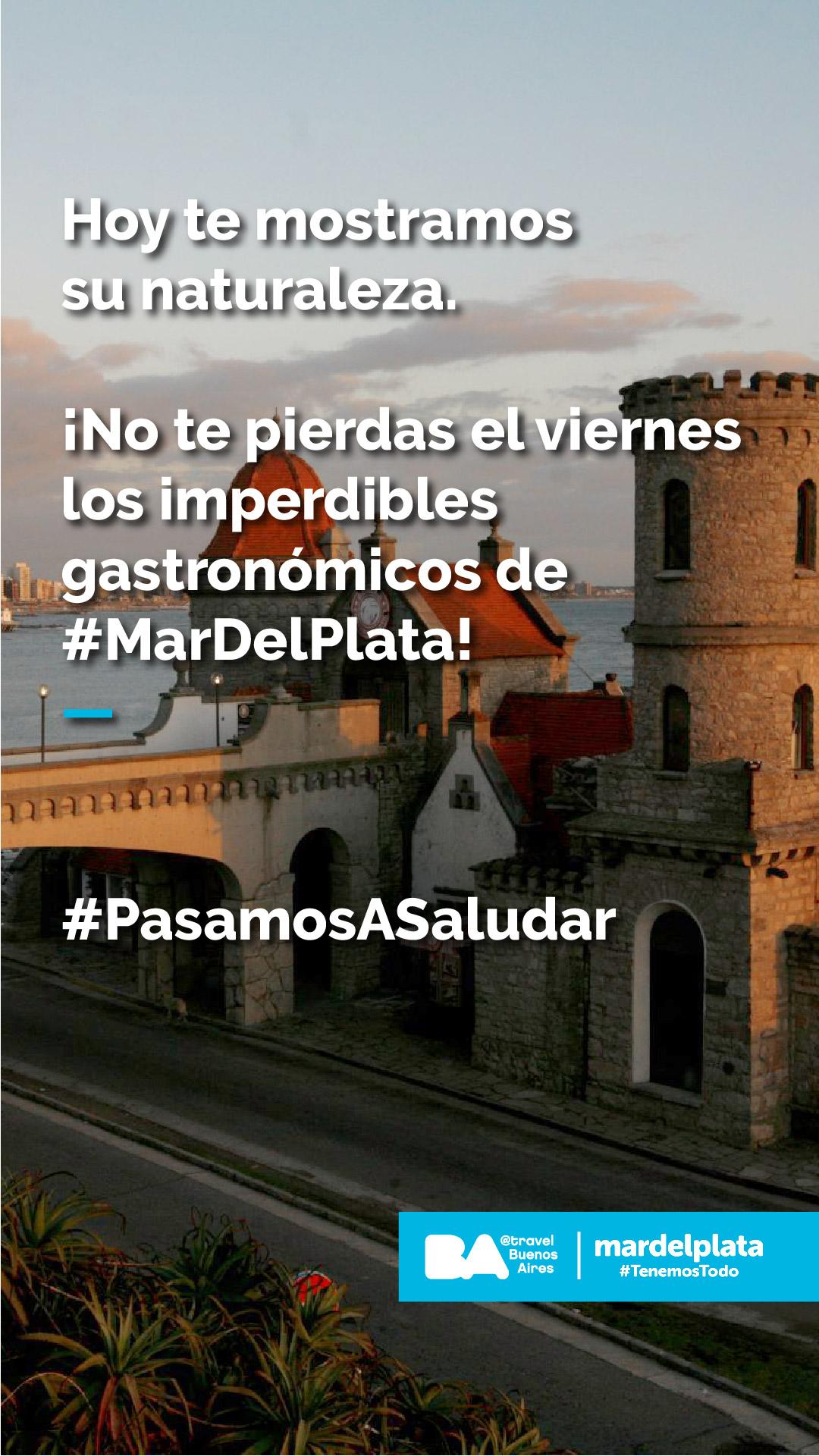 """""""Pasamos a Saludar"""": Una acción de turismo solidario entre Buenos Aires y Mar del Plata"""