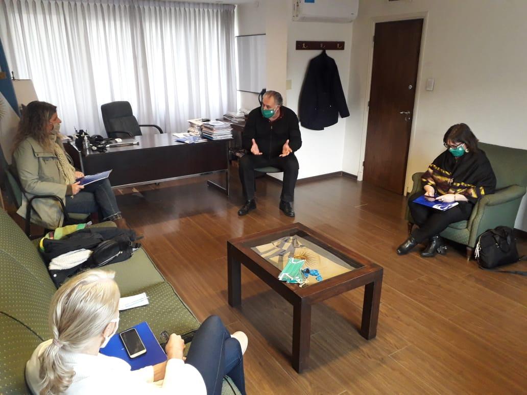 Autoridades de la UNMdP se reunieron con el Ministerio de las Mujeres, Políticas de Género y Diversidad Sexual