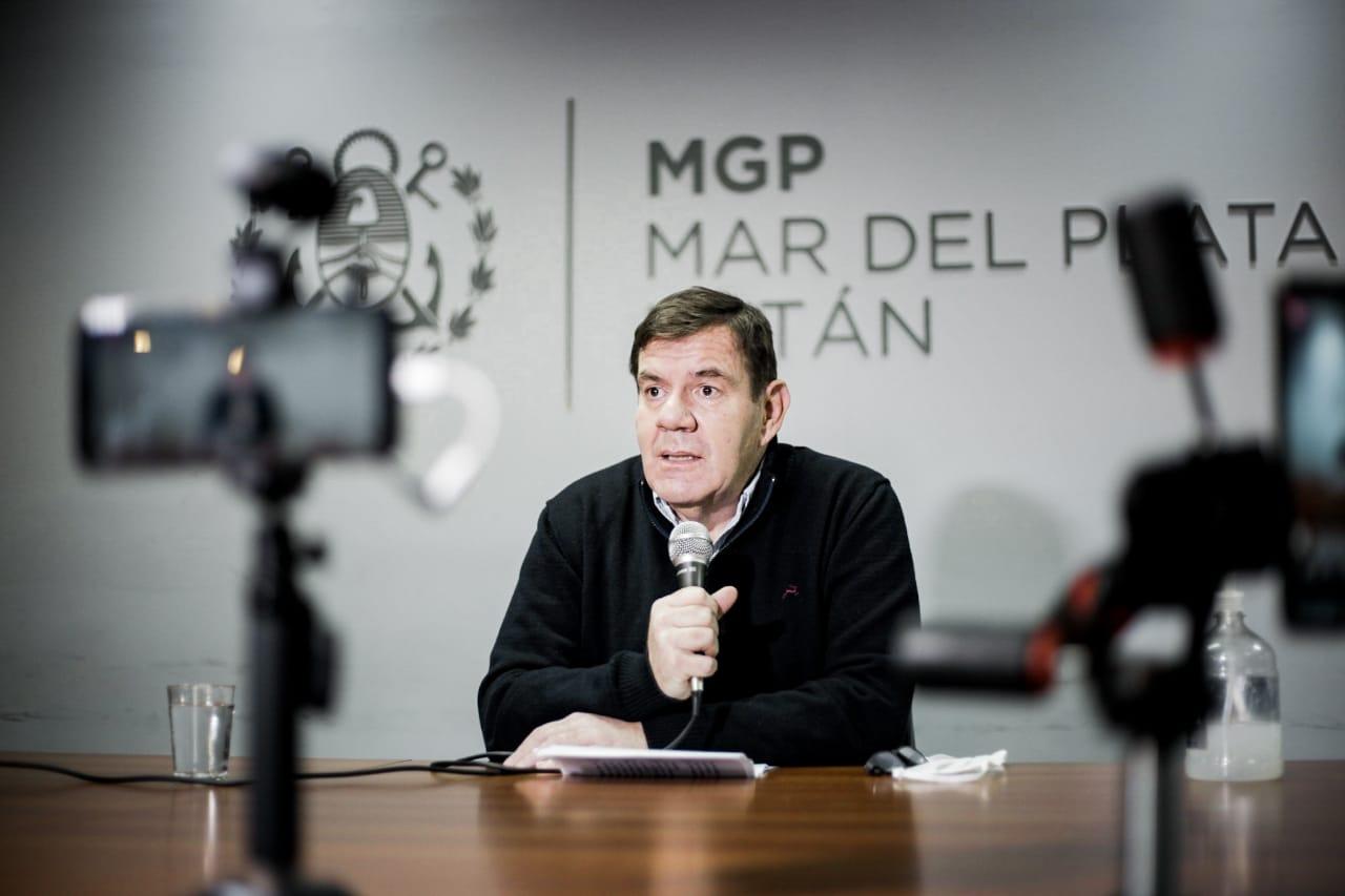 """Montenegro: """"defendemos el trabajo marplatense"""""""