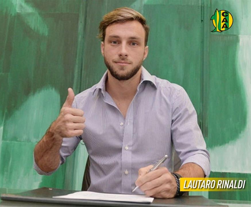 Aldosivi incorporó al delantero Lautaro Rinaldi