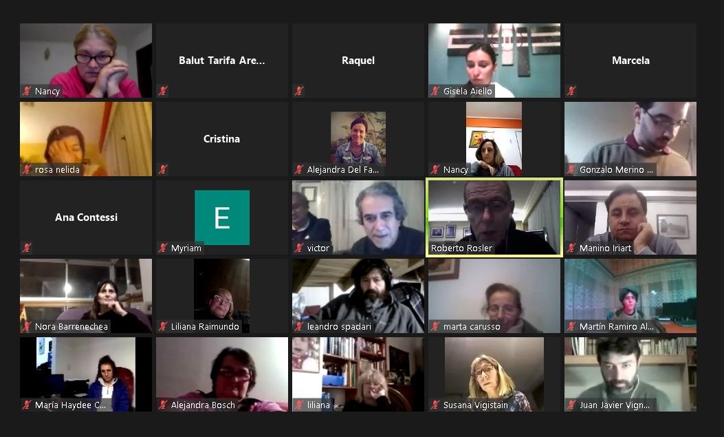 Webinar con foco en la educación organizado por Punto de Encuentro Pensar Mar del Plata