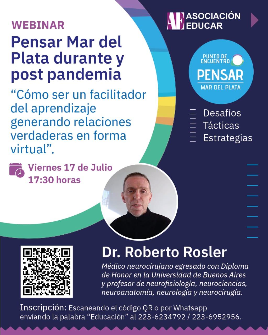 """""""Pensar Mar del Plata"""" durante y post pandemia"""