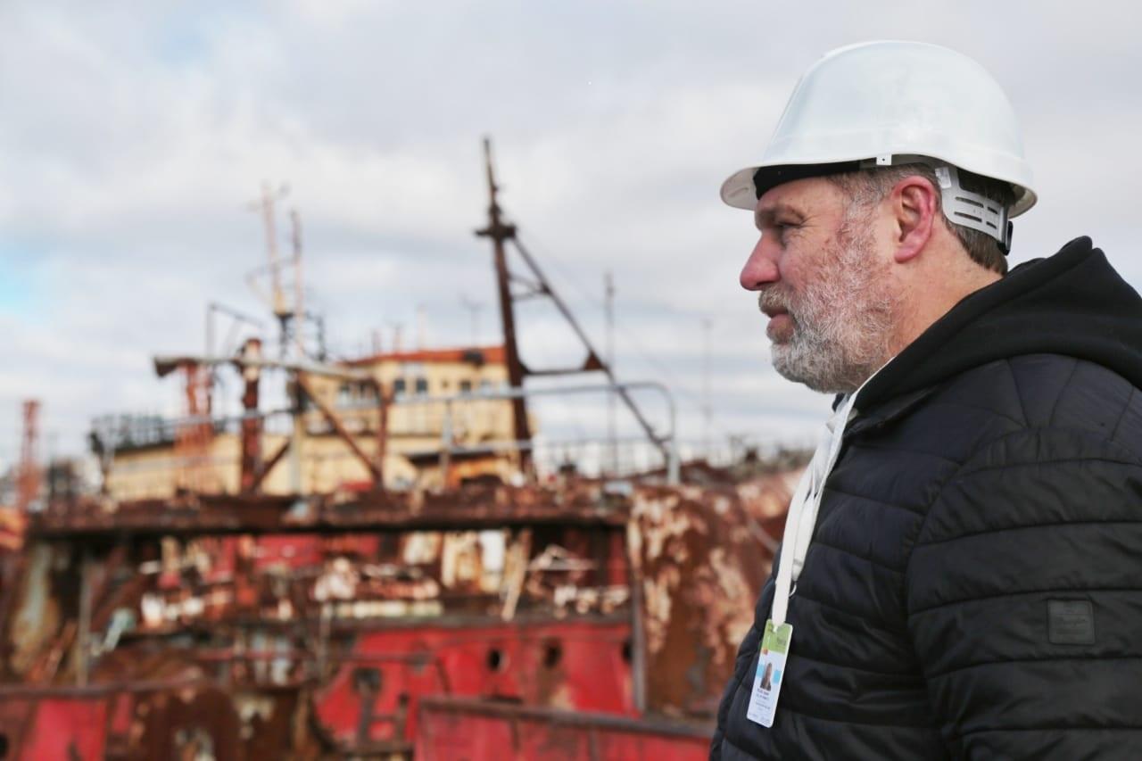 Se puso en marcha Plan de desguace en el puerto de Mar del Plata