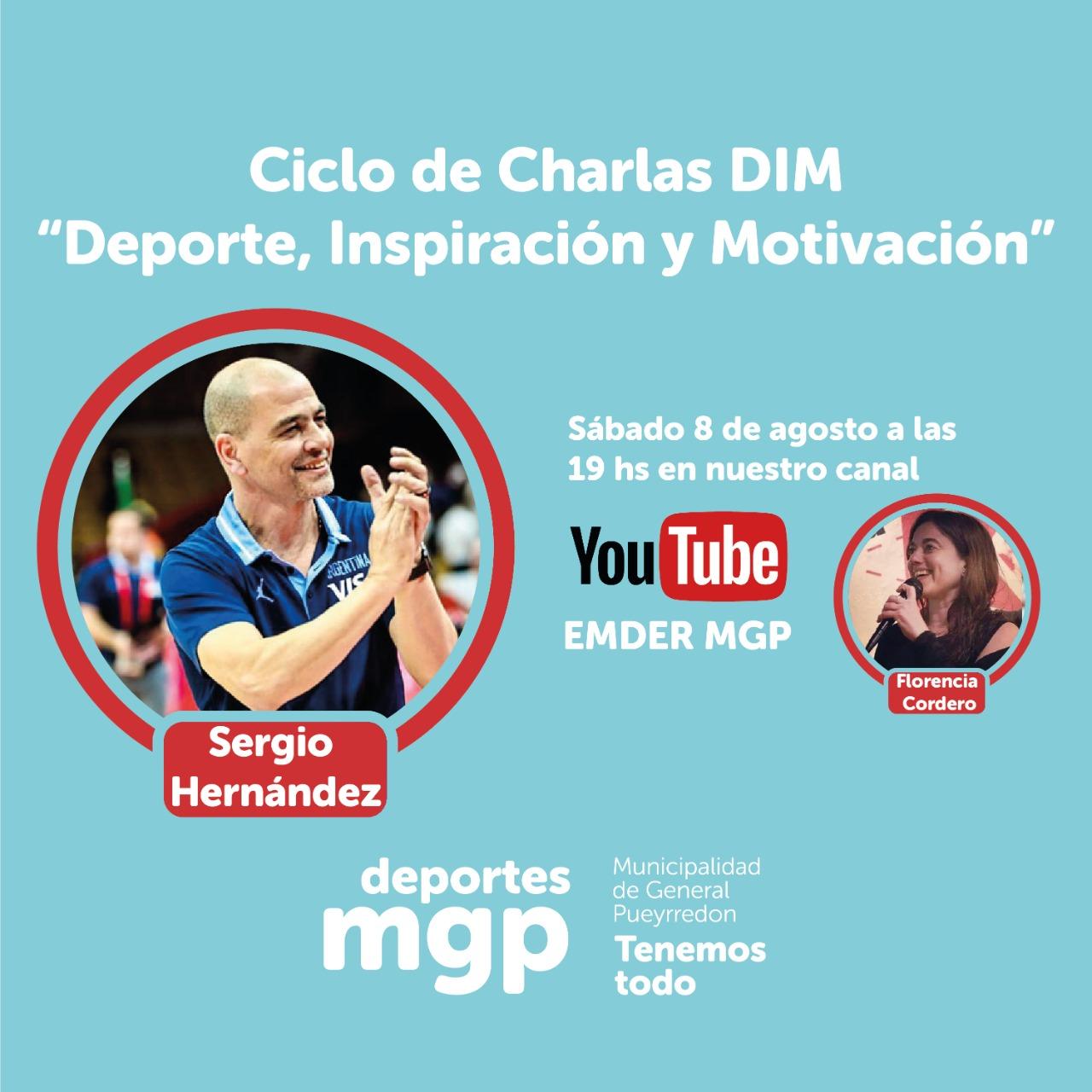 Comienzan las Charlas DIM con Sergio Hernández
