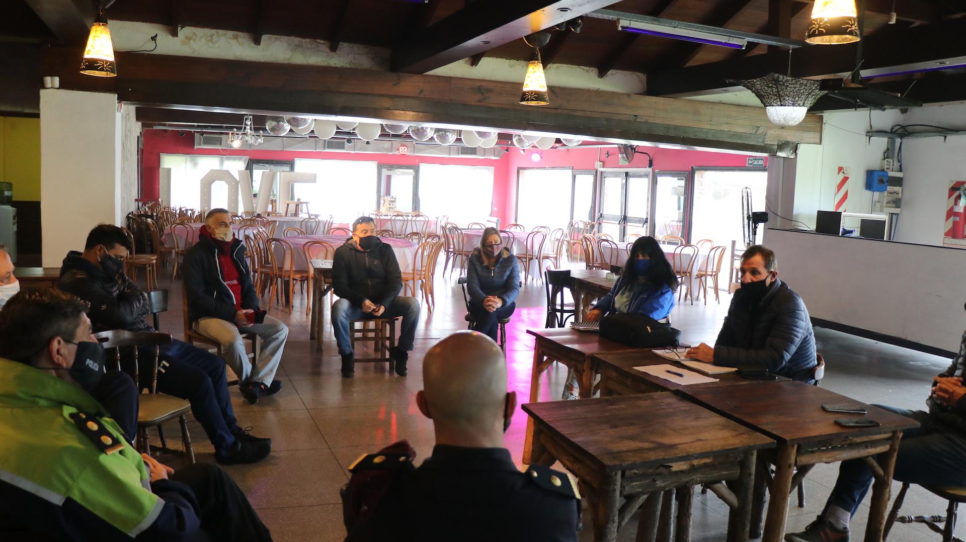 Presidente del Emder se reunió con entidades que funcionan en Parque Camet