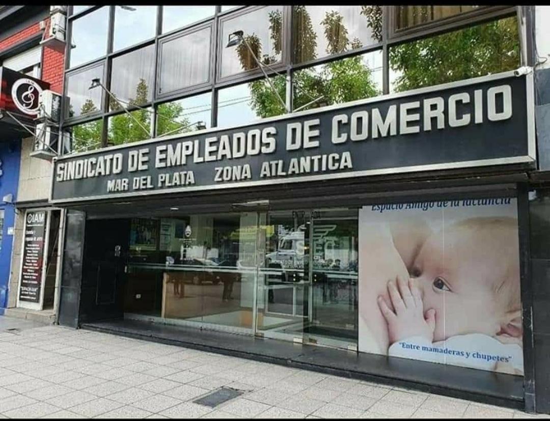 Cierran la sede del Sindicato de Empleados de Comercio por desinfección