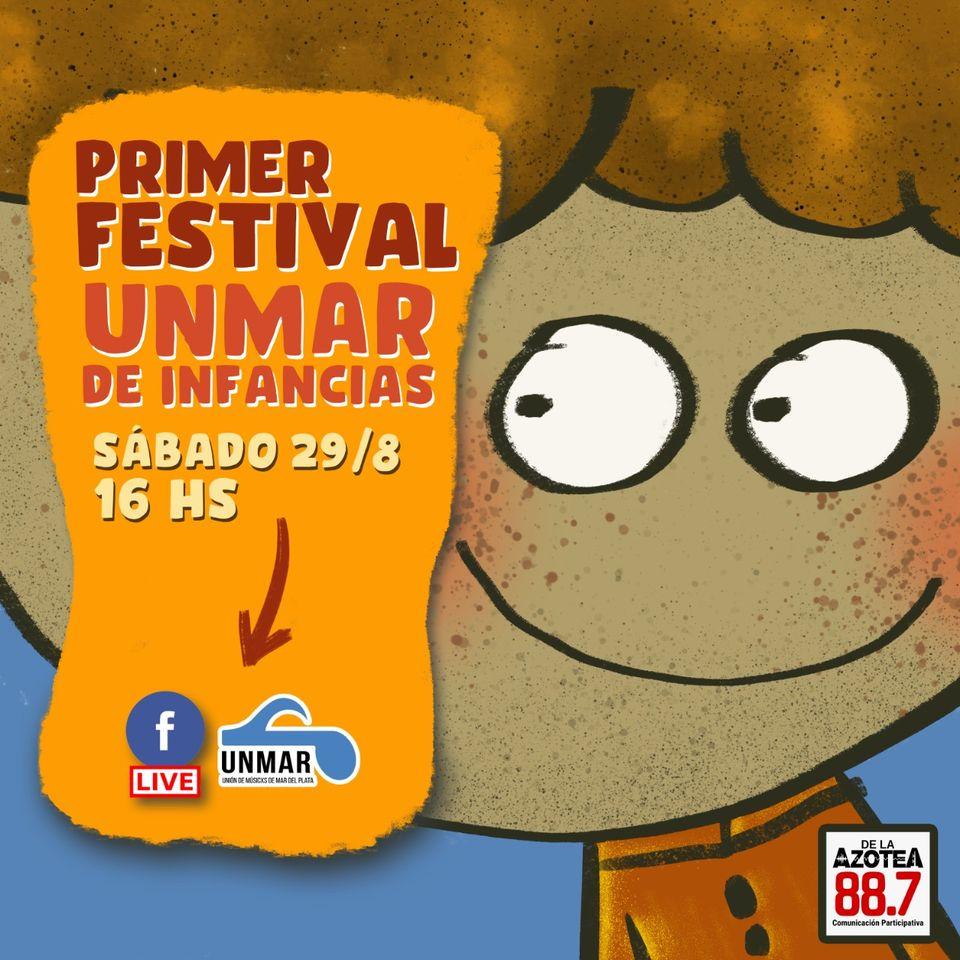 """Llega el 1° Festival solidario """"UNMAR de infancias"""""""