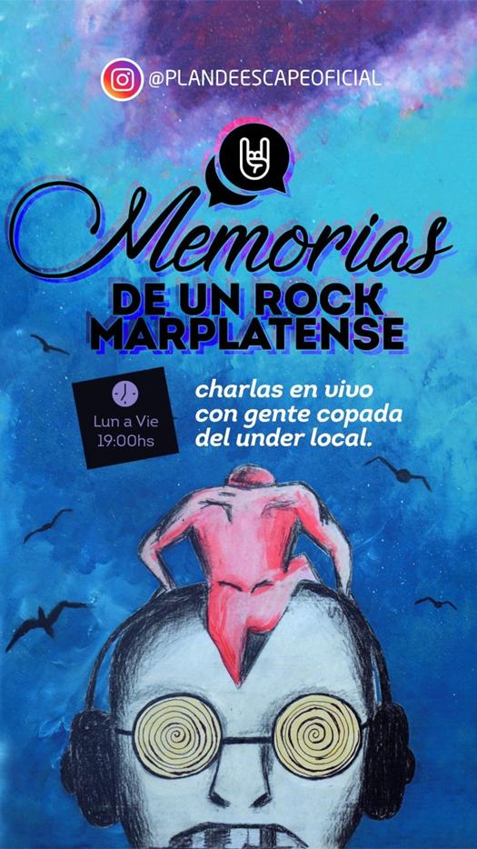 """""""Memorias de un Rock Marplatense"""", ciclo de entrevistas"""
