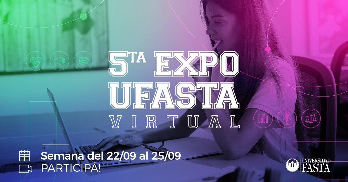 Se realizará la 5ta Edición EXPO UFASTA de manera virtual