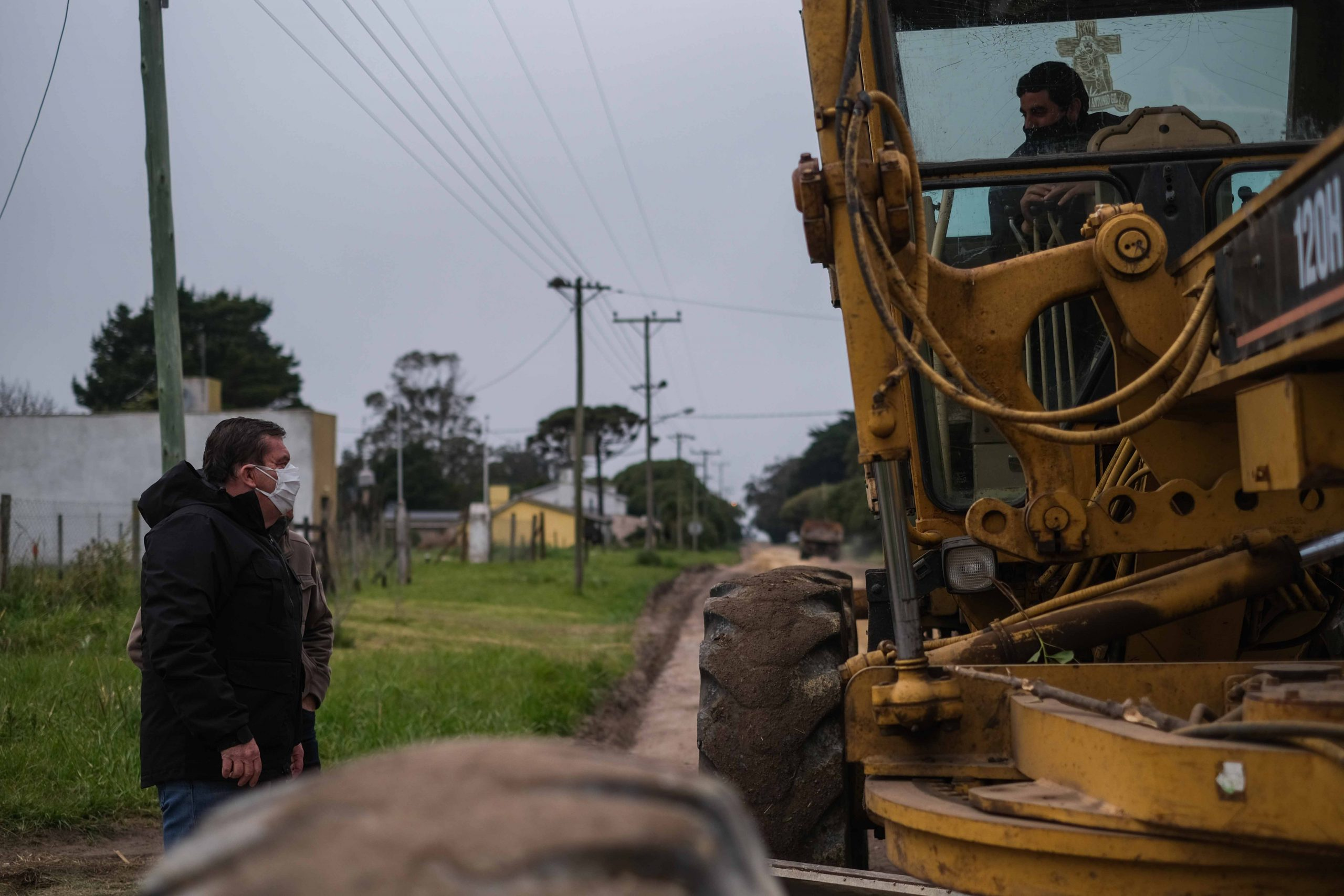 La Municipalidad avanza con el mantenimiento de calles del sur