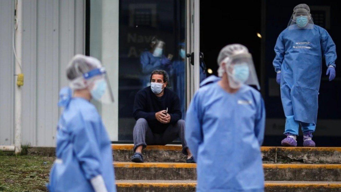 Informan un promedio de 12.062 casos diarios de coronavirus en los últimos 7 días