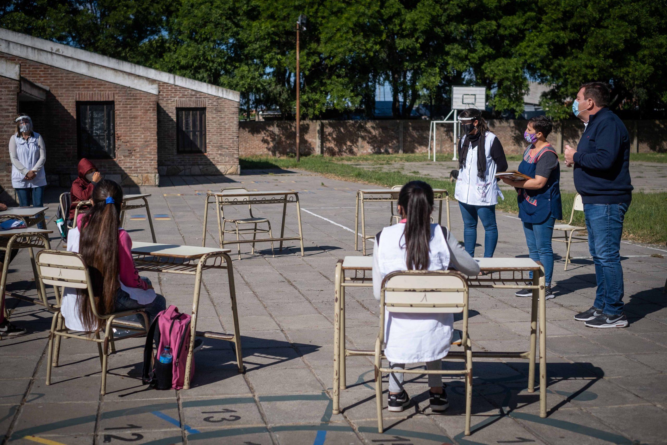 Comenzaron los encuentros de revinculación en escuelas municipales