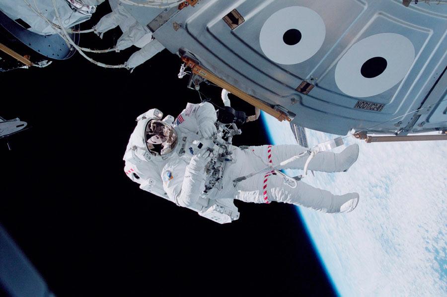 Película sobre el espacio… en el Espacio.