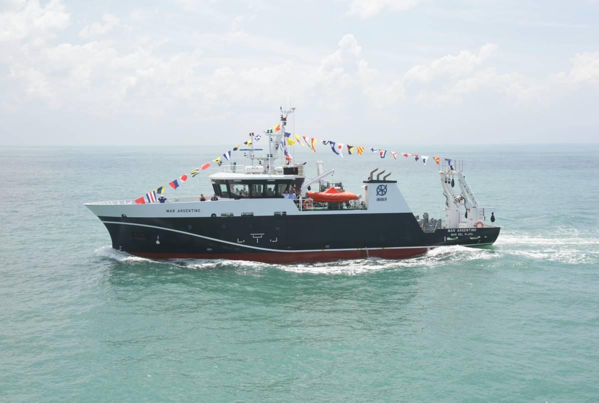 El nuevo buque de investigación del INIDEP ya se encuentra en Mar del Plata
