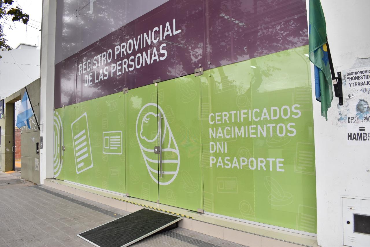 Registro de las Personas bonaerense realizará la totalidad de trámites de modo presencial con turnos