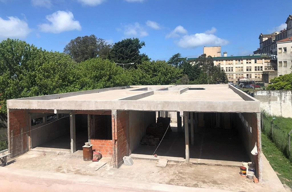 Construyen residencias médicas en el predio del Hospital Interzonal