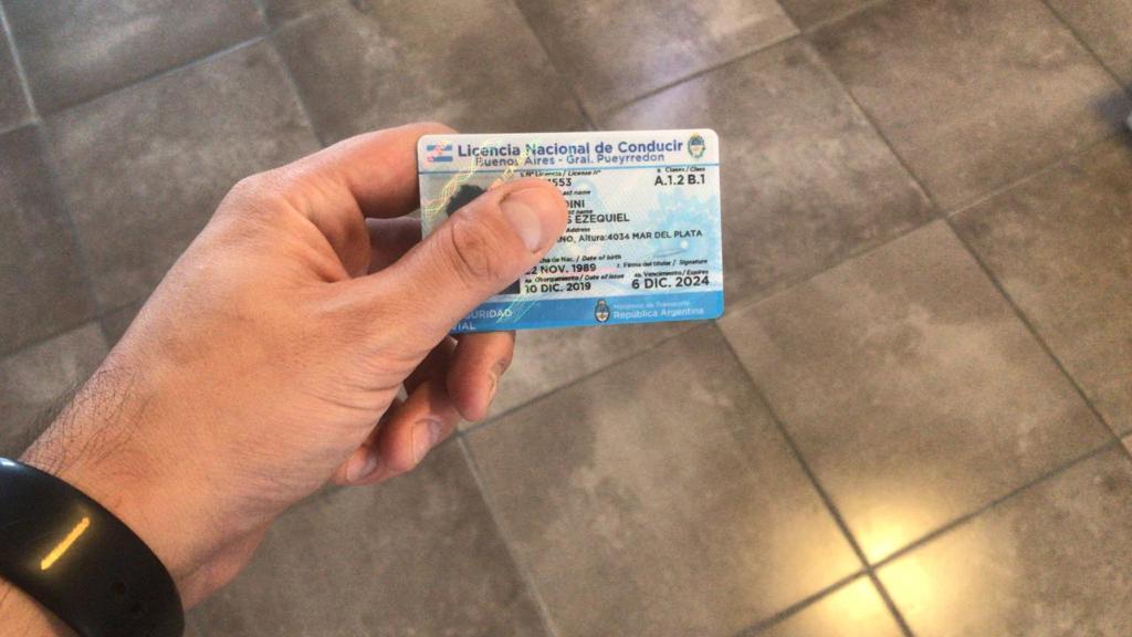 Ya funciona la nueva turnera para renovar la licencia de conducir