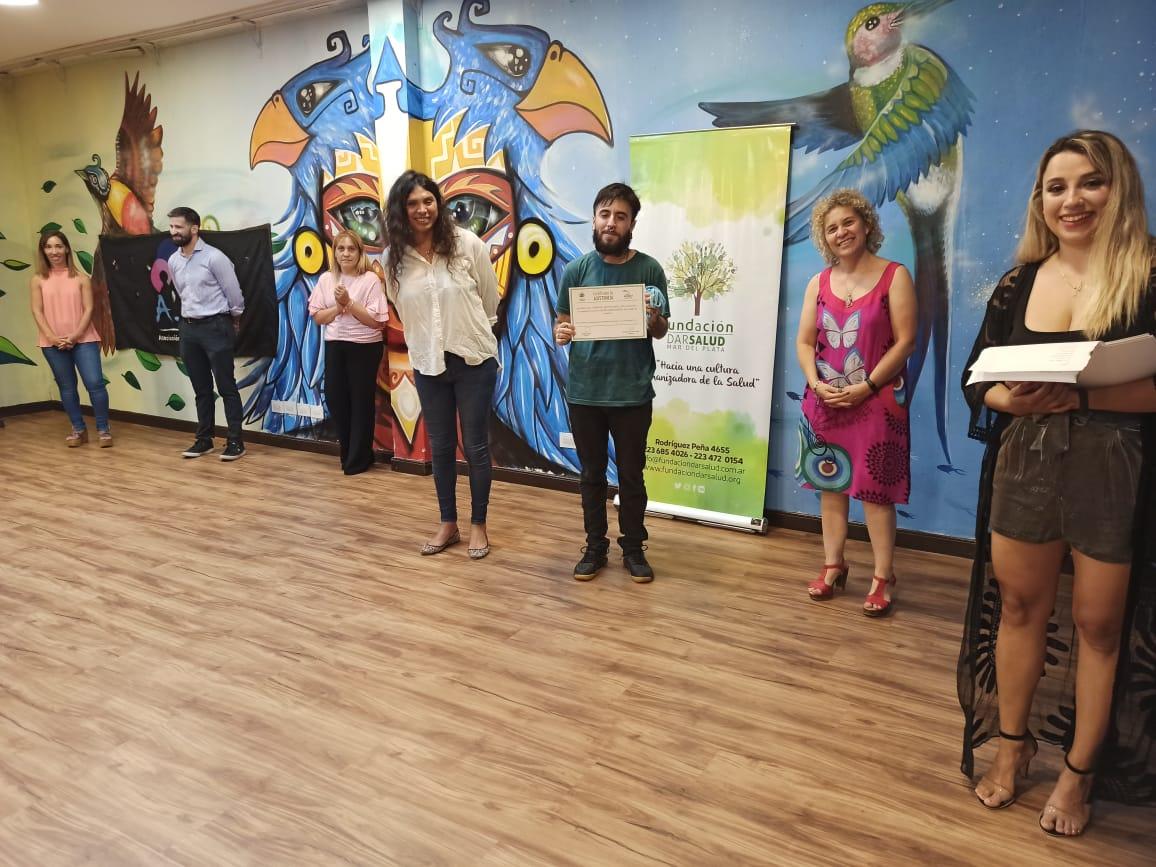 Entrega de certificados del Instituto Juana Azurduy - Fundación Dar Salud