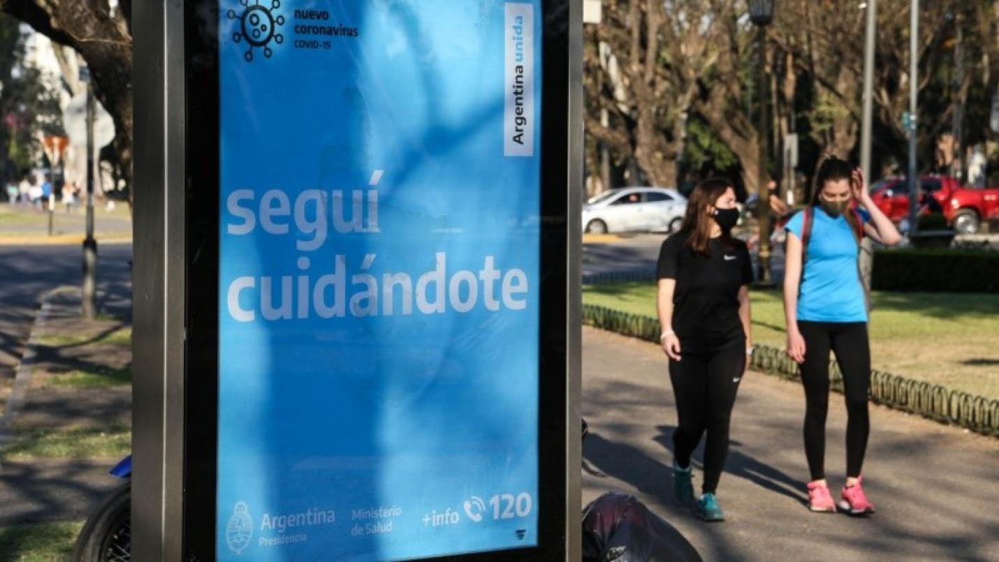 Argentina superó los tres millones de casos de coronavirus desde que comenzó la pandemia