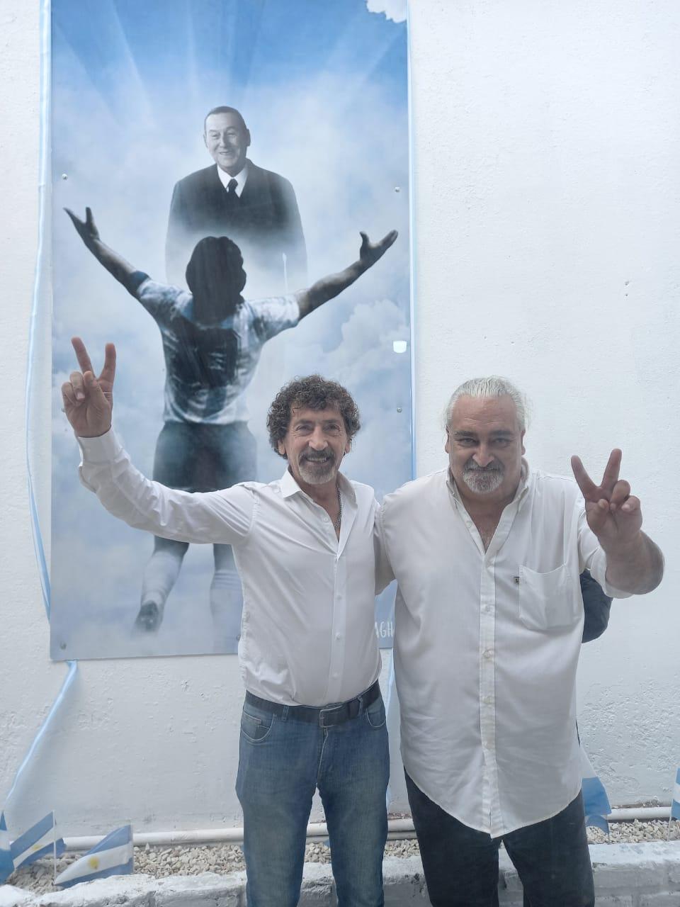Se inauguró un mural de Maradona en el PJ de Mar del Plata