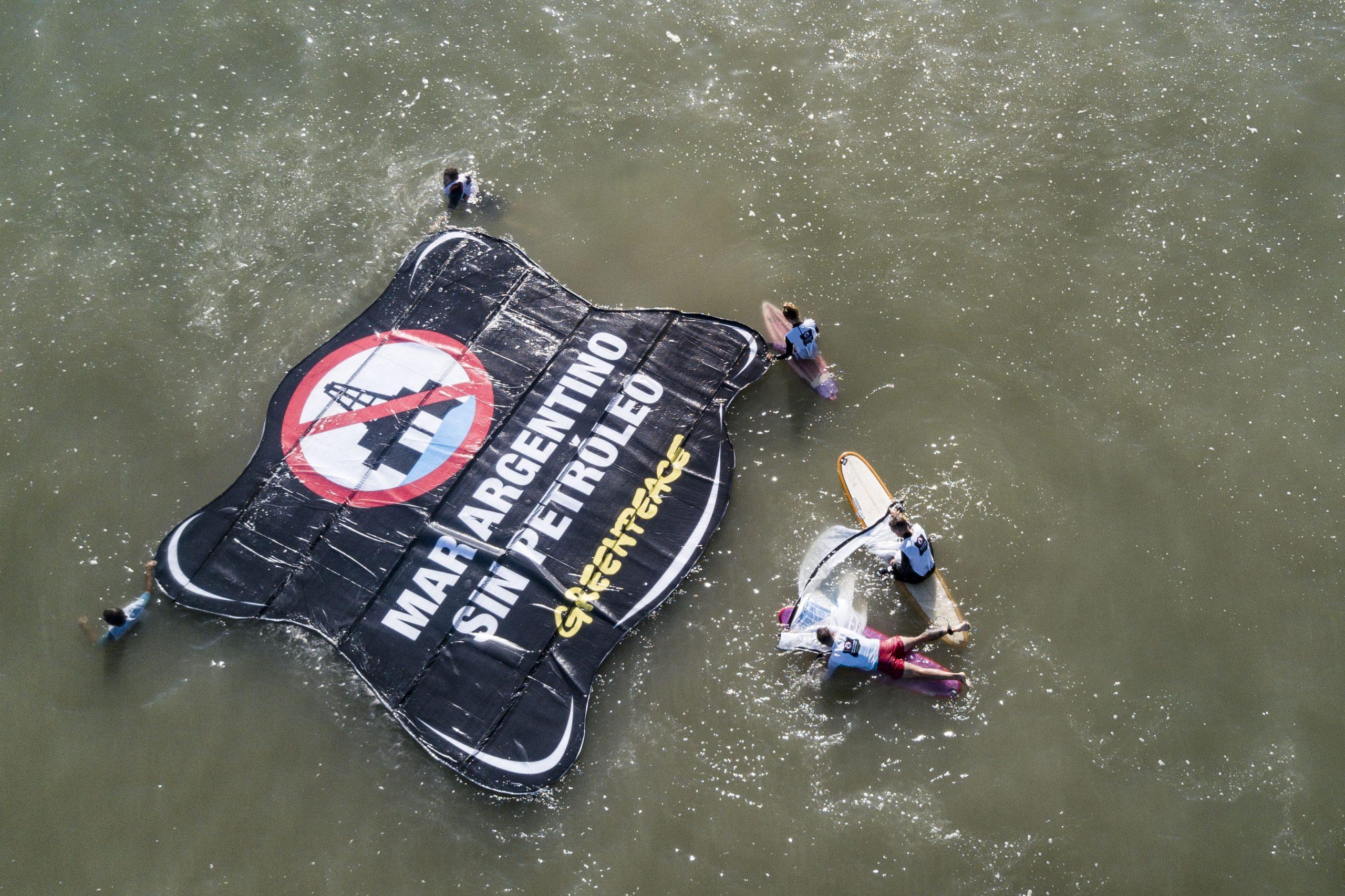 """Greenpeace: """"Es un primer paso que debe llevar al rechazo oficial del proyecto"""""""